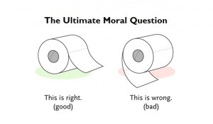 ultimate moral question