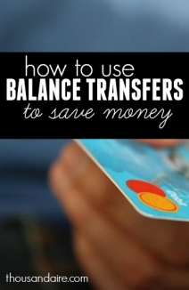If you have high interest debt and want to stop paying so much interest on your loans, you can likely reduce your interest and save money with a balance transfer.