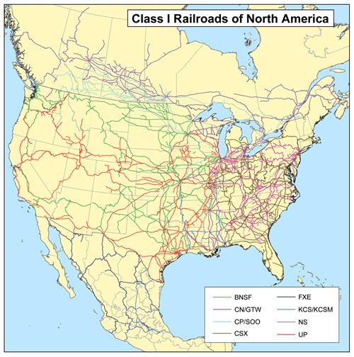 Warren Buffett likes railroads