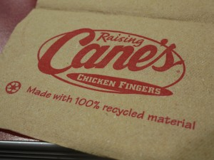 Raising Canes Saves Money