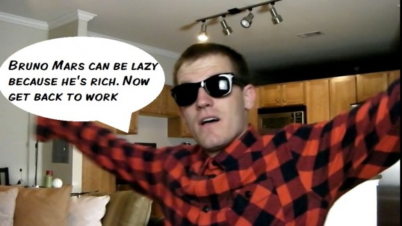The Lazy Song Parody Bruno Mars Kevin McKee