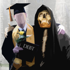 You and your debt.