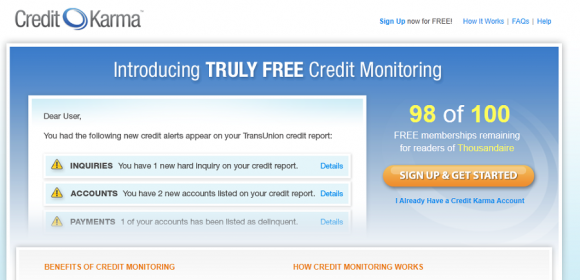 Credit Karma Thousandaire