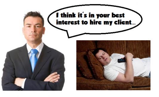 hire a lazy man