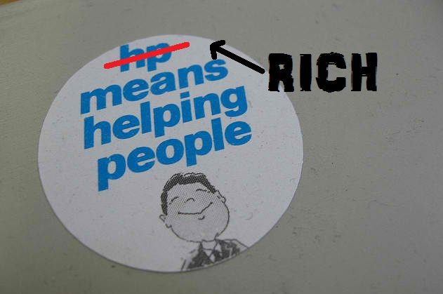 rich is helping people