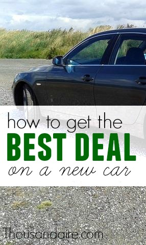 If you want a great deal on a new car, make multiple dealers fight for your business. Here are the exact steps I took to find an awesome deal on a new car.