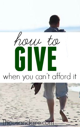 Are you looking for a way to give this year but are on low cash? There are several ways to give back and some of the most important have nothing to do with money.