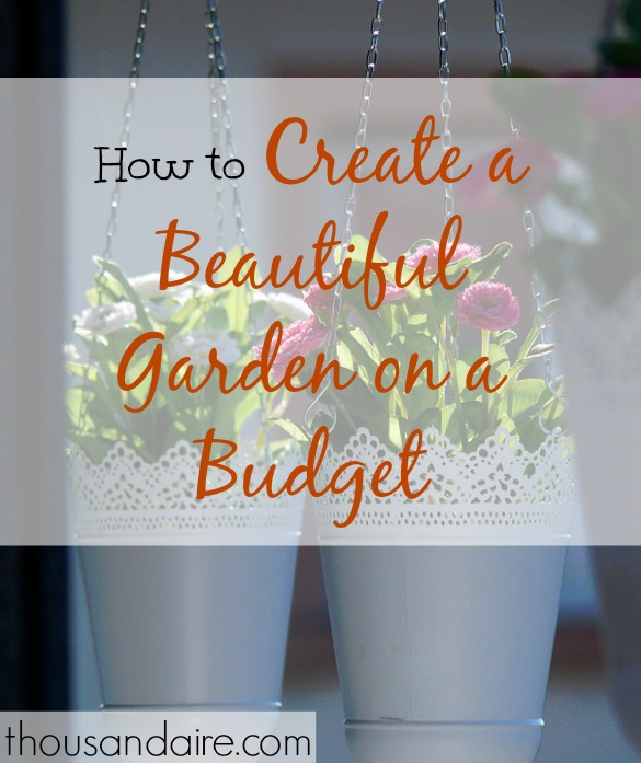 gardening on a budget, frugal gardening, affordable gardening