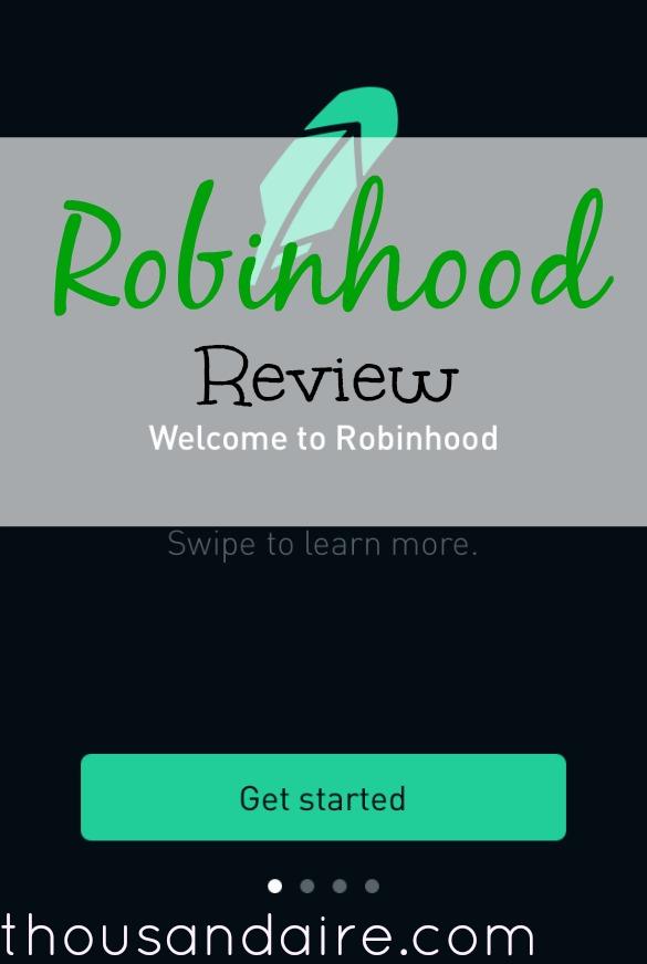 robinhood app, investing app, app review