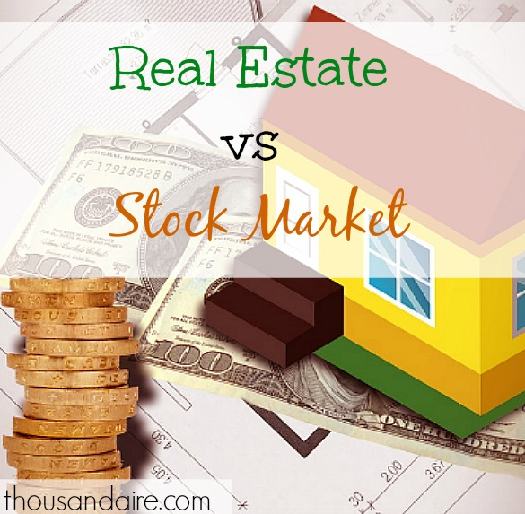 real estate, stock market, investing options