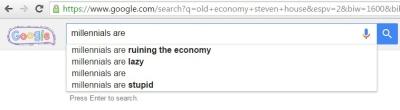Wow, google hates us...