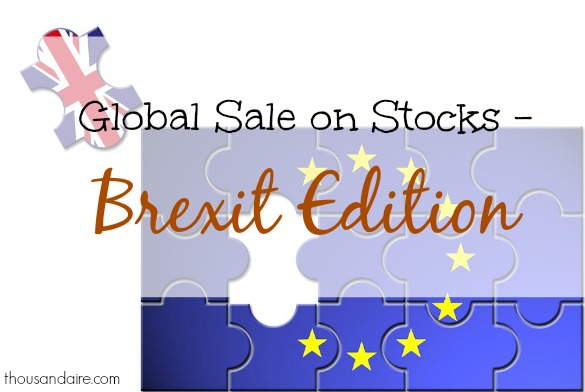 brexit, Global Stock Market, Effects of Brexit