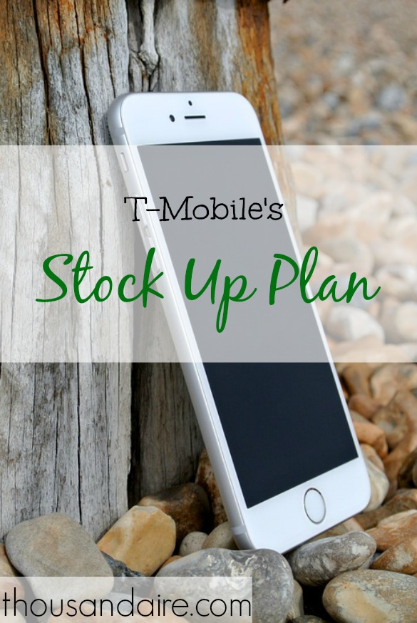 t-mobile stock offer, stock up plan, cellphone stock offers