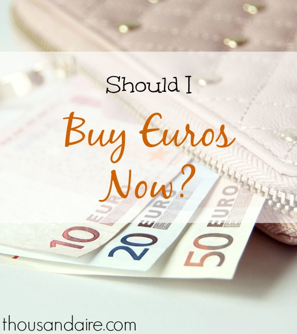 purchasing Euros, Brexit effects