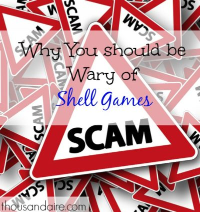 shell games, scam games, streetside games