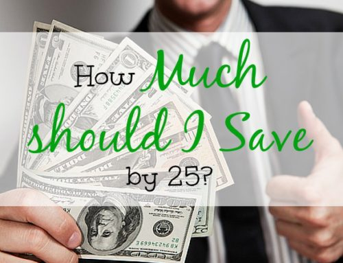 How much should I save by 25?