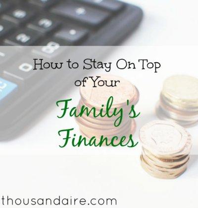 family finance tips, family finance advice, managing family finances