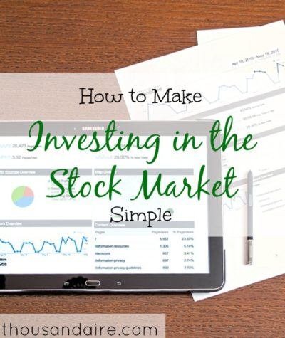 simple investment tips, investing in the stock market advice, stock market advice