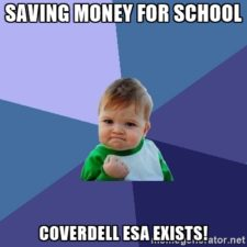 """Success Kid"" loves the Coverdell ESA"