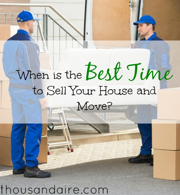 tips on moving out, best time to sell your house, tips on selling your home and moving out