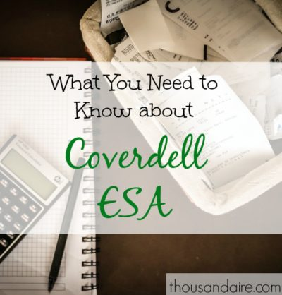 tax tips, coverdell ESA, tax advice