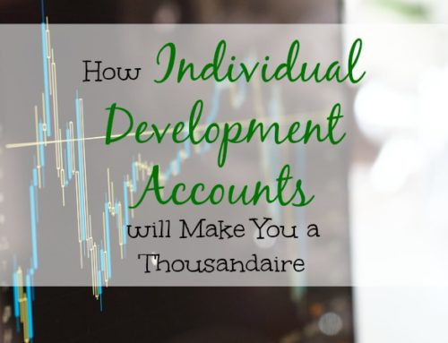 Individual Development Accounts Will Make You a Thousandaire