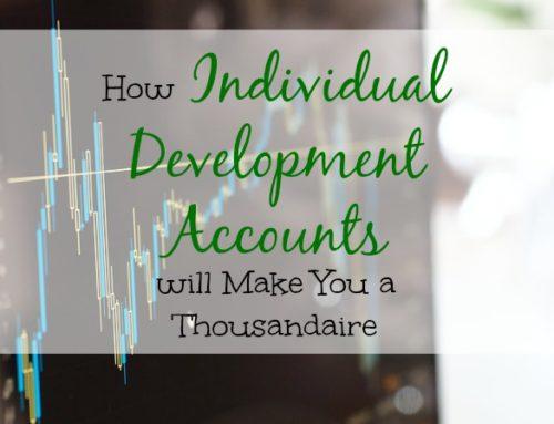 Individual Development Accounts Will Make You a Thousandaire