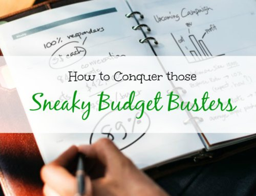 Money Monsters: How to Conquer Those Sneaky Budget Busters