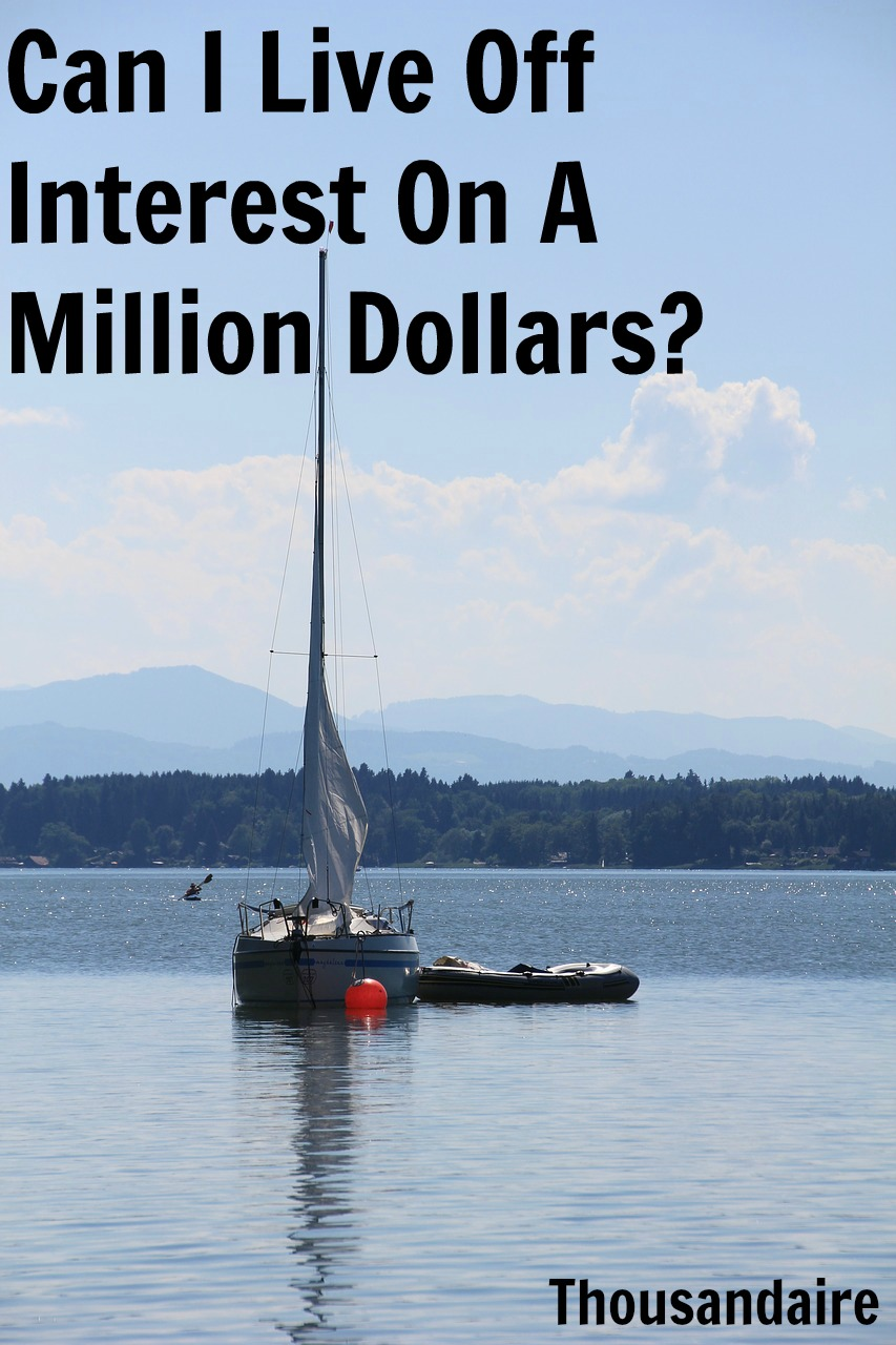 Can I Live Off Interest On A Million Dollars-