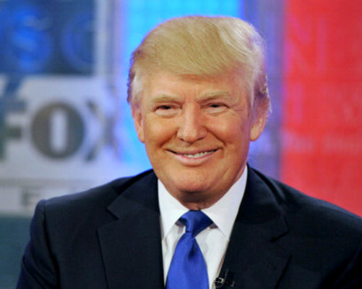 "NEW YORK, NY - AUGUST 29:  American business magnate and TV personality Donald Trump visits ""FOX and Friends"" at FOX Studios on August 29, 2011 in New York City.  (Photo by Slaven Vlasic/Getty Images)"