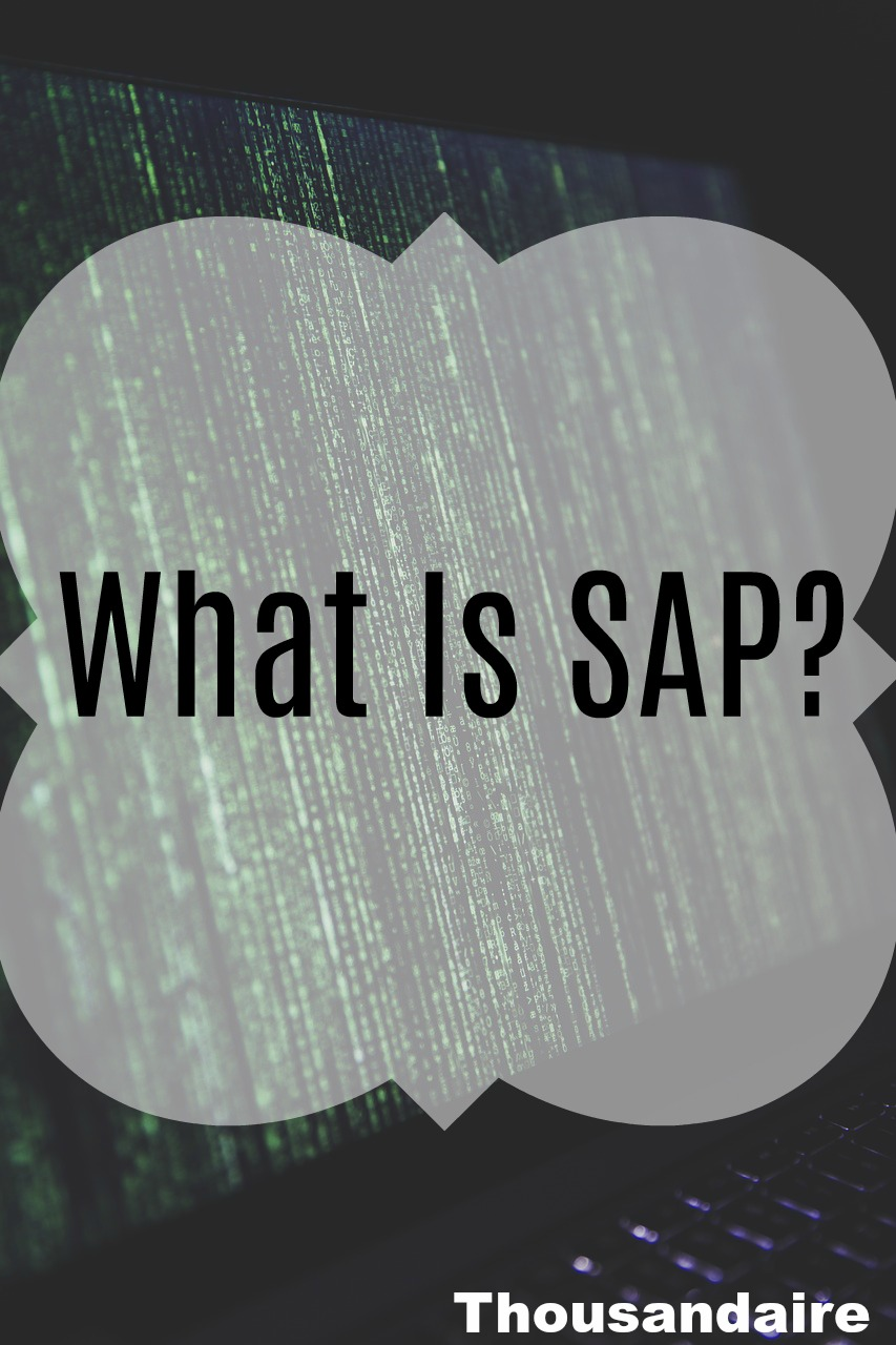 What Is SAP-