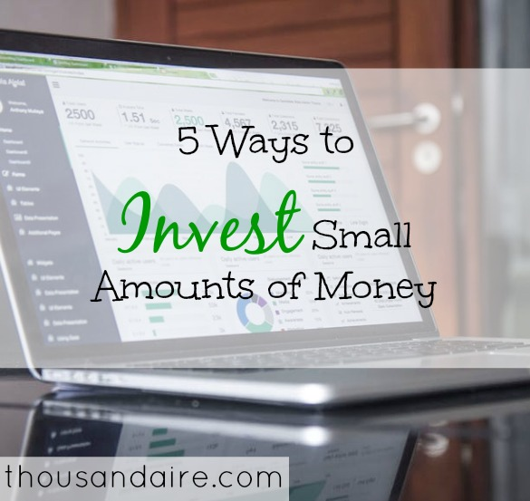 investing tips, investing small amounts of money, investing advice