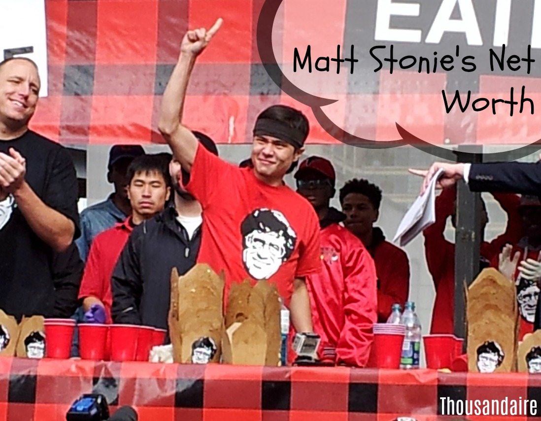 Matt Stonie's Net Worth