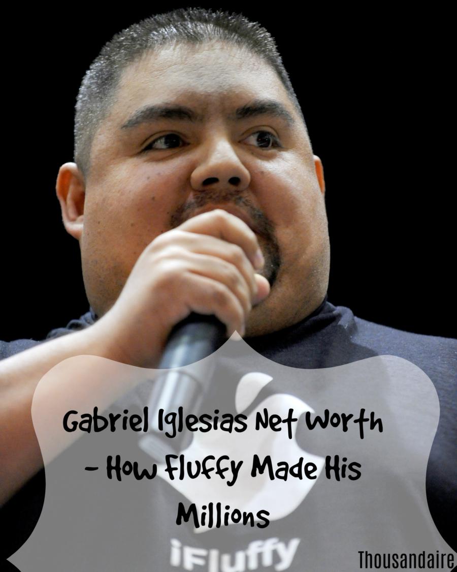 Gabriel Iglesias Net Worth - How Fluffy Made His Millions