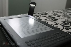 Kindle with the light