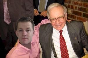 Warren Buffett with Kevin McKee