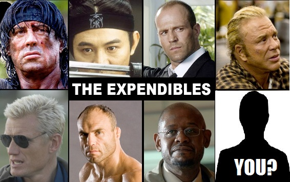 Are you expendable?