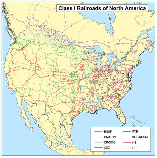 Warren Buffett likes railroads