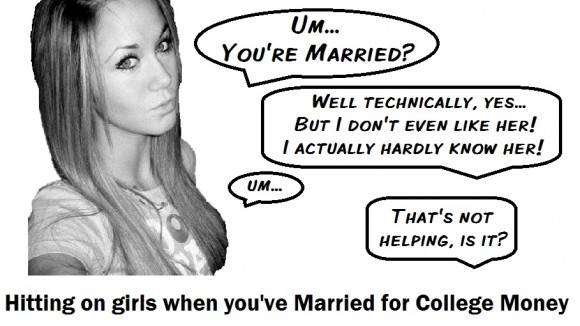 hitting on college girls