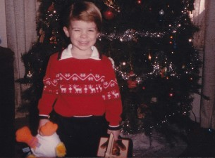 christmas sweater kid