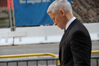 anderson cooper on the street