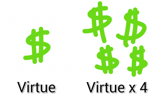 Money is Virtuous