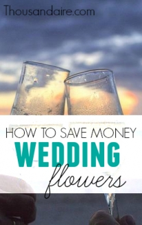 Wedding flowers can be down right expensive! With some smart thinking I was able to save a lot of money on my wedding flowers. Here's what I did.