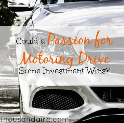 motoring drive, investment opportunities, investment options