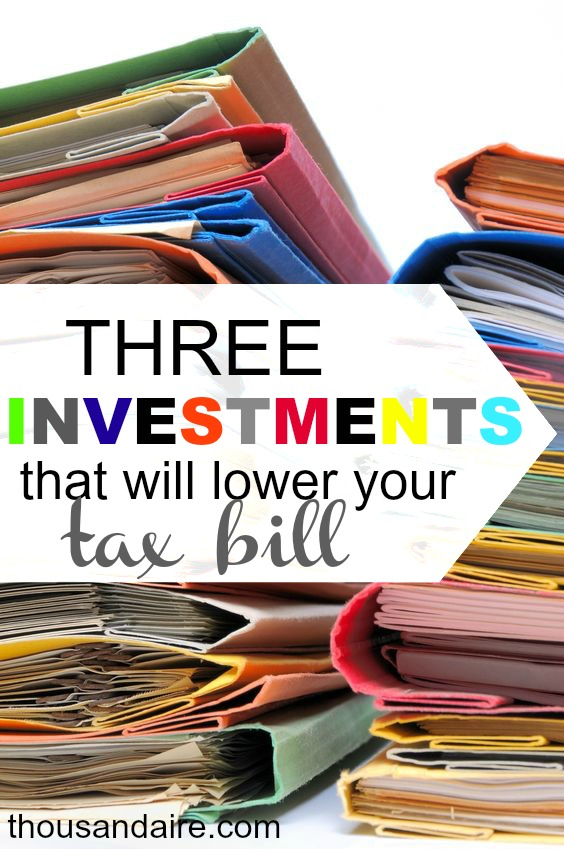 Taxes have a significant impact on long term investments.  Know your options for minimizing your tax liability.