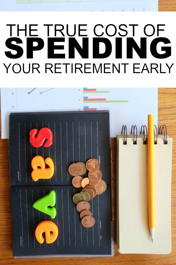 Considering taking an early withdrawal from your Traditional IRA? Don't. Here's the true cost of spending your retirement early.