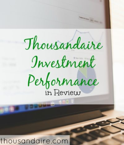 thousandaire investment performance, investment performance review, investment performance