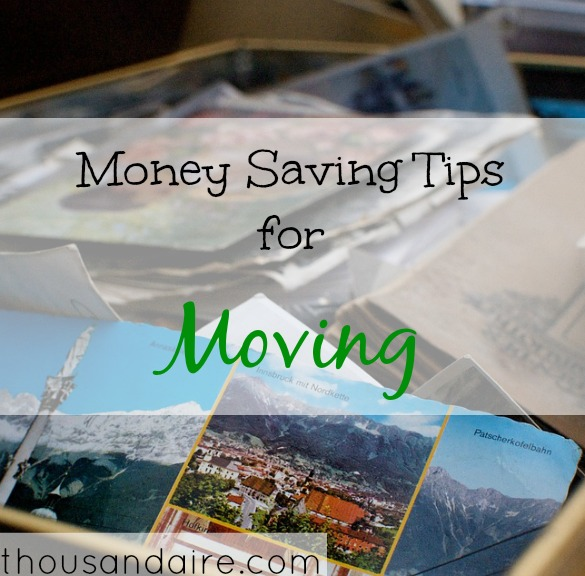 moving out tips, saving money on moving, moving out advice