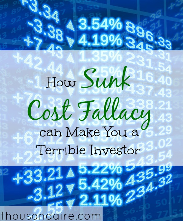 what is sunk cost fallacy, investment tips, investment advice