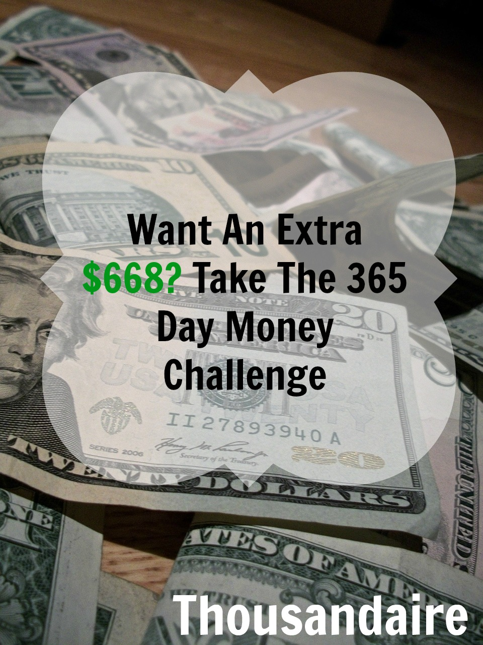 Want An Extra $668- Take The 365 Day Money Challen